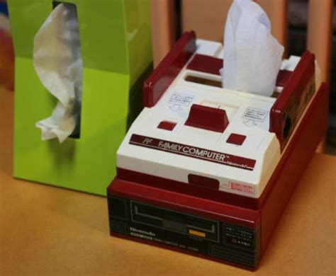 Tissue Dispensing Robot On The Prowl In Japan by Nintendo Famicom Kleenex Cozy Paper Mario Literally