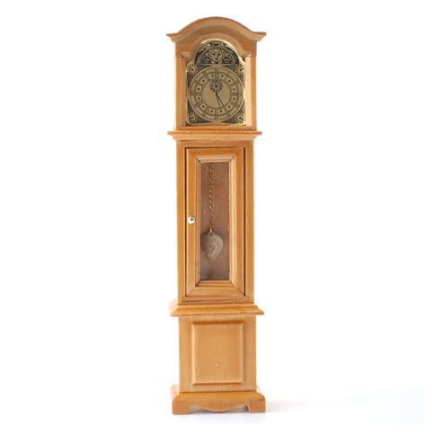 grandfather clock df281 1 12 scale grandfather clock online dolls house superstore
