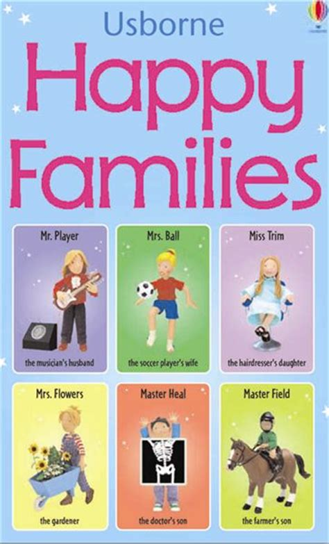 Card Cars Happy Family happy families at usborne books at home