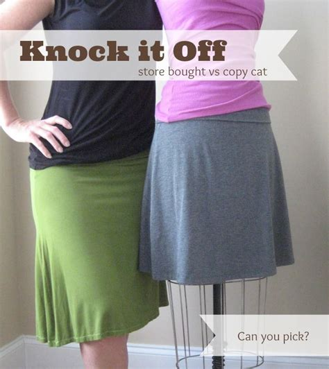 Knock Out Knock Offs by Learn How To Knock Your Favorite Skirt Easy Patterns