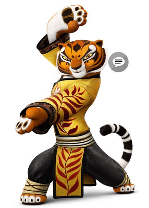 imagenes de los personajes de kung fu panda 3 maestra tigresa personajes kung fu panda