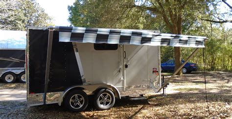 c trailer awnings c trailer awnings 28 images 7x16 enclosed motorcycle
