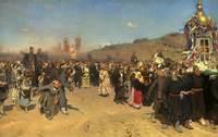 Pin Ilya Repin Easter Procession On Pinterest