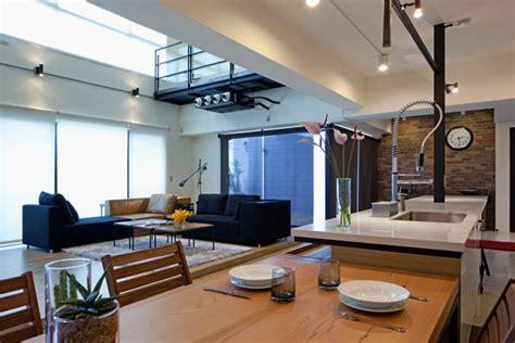 contemporary house interior design dise 241 o de apartamento en un almac 233 n loft moderno