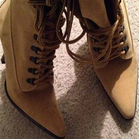 93 dmarie boots timberland style high heel