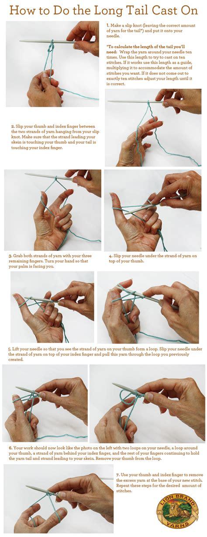 cast on for knitting how to do the cast on crochet knit crochet