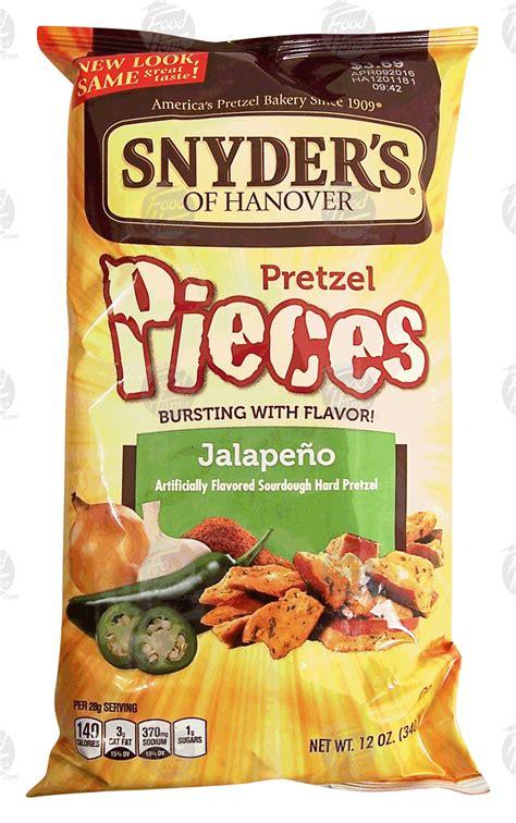 Snyder S Snyders Jalapeno 125gr groceries express product infomation for snyder s of hanover jalapeno pretzel pieces