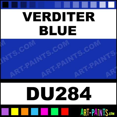 verditer blue verditer blue holbein oil paints du284 verditer blue