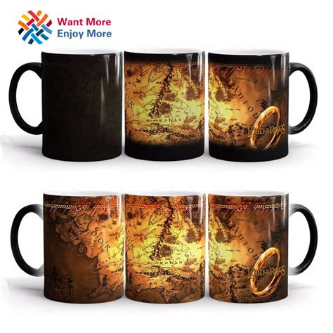 gifts for lord of the rings fans discoloration cup ring king mugs the lord of the rings