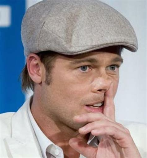 Brad Pitt And Turn Their Noses Up To The Oscars by 25 Picking Their Nose In