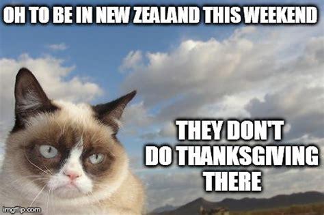 Thanksgiving Cat Meme - grumpy cat thanksgiving