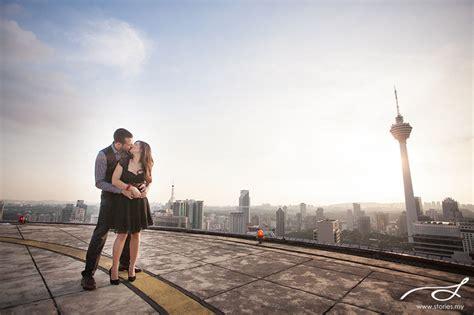 Cruise Wed In Los Angeles Last Week by Pre Wedding Kl Skyline Alexia Wedding