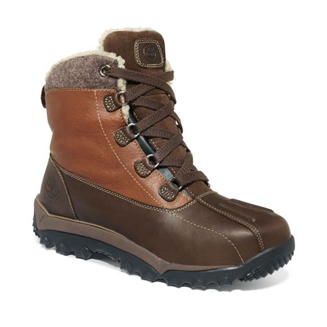 timberland waterproof boots timberland waterproof boots in brown for lyst