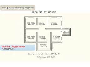 1000 Sq Ft House Plans Indian Style by Home Plan And Elevation 1000 Sq Ft Kerala Home Design