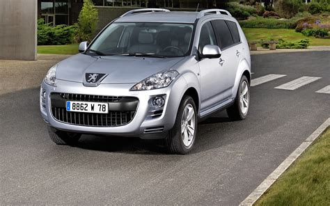 peugeot automatic cars for peugeot 4007 dcs automatic widescreen exotic car
