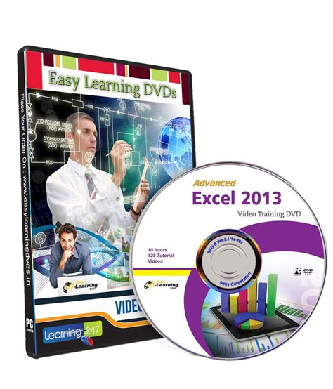 microsoft excel 2013 advanced tutorial advanced microsoft excel 2013 tutorial video dvd by easy