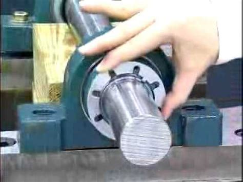 Pillow Block Bearing Removal by Imperial Bearing Installation Removal Lubrication Wmv