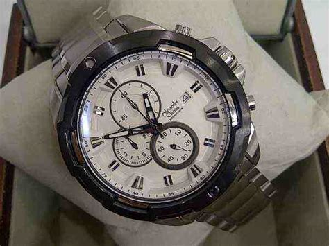 Jam Tangan Alexandre Christie 6305 jual alexandre christie ac 6308 all black index orange