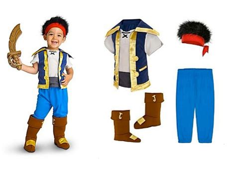 jake the costume disney store jake costume jake in the never land pirate set boys ebay