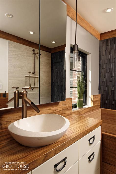 wood vanity top bathroom custom teak wood vanity top for a bathroom in washington dc