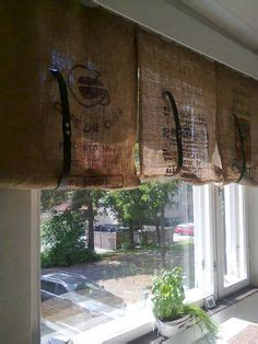 coffee sack curtains 1000 images about coffee sack diy on pinterest coffee