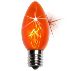 c9 christmas light bulb c9 twinkle amber orange