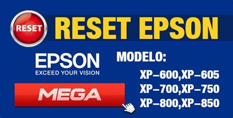 Reset Epson Xp 800 Gratis | reset para impresora epson xp 600 xp 605 xp 700 xp 750 xp