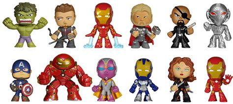 Whi Is The Vinyl Avenger At Kpft - 2015 funko age of ultron mystery minis info list