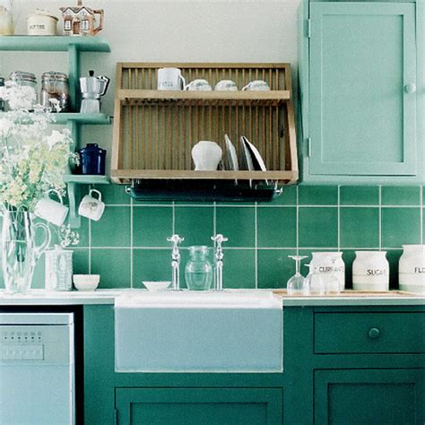 green and blue kitchen kitchen paint colors unusual color schemes the kitchen