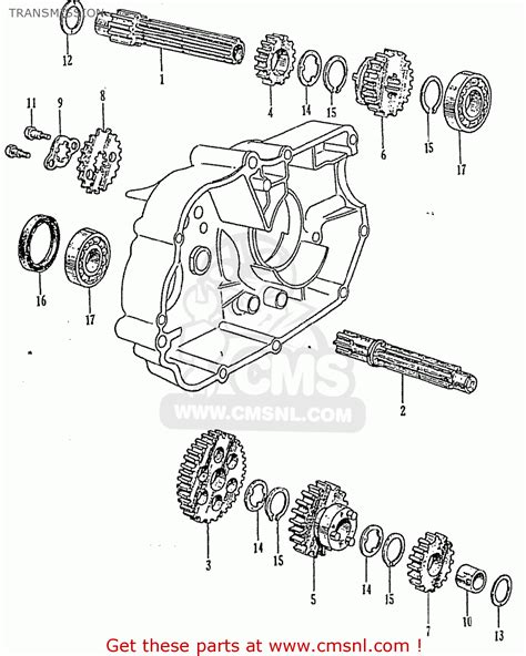 crf50 transmission diagram 26 wiring diagram images