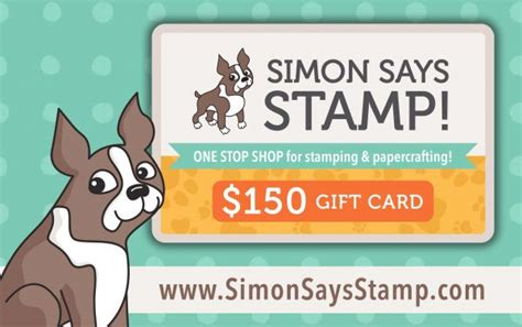 Where Can I Use My Simon Gift Card American Express - world kindness day caring hearts blog hop simon says st blog