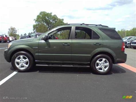 Kia Sorento Green Green 2007 Kia Sorento Lx Exterior Photo 48182006
