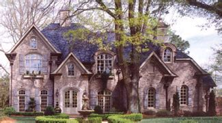 chateau lafayette french country house plan photo tour garrell associates the chateau lafayette
