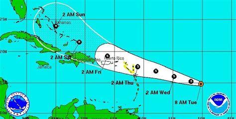 imagenes satelitales tormenta erika quot erika quot amenaza convertirse en hurac 225 n y azotar puerto