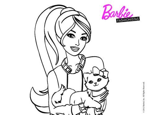 imagenes para colorear barbie mejores 55 im 225 genes de dibujos de barbie para colorear en