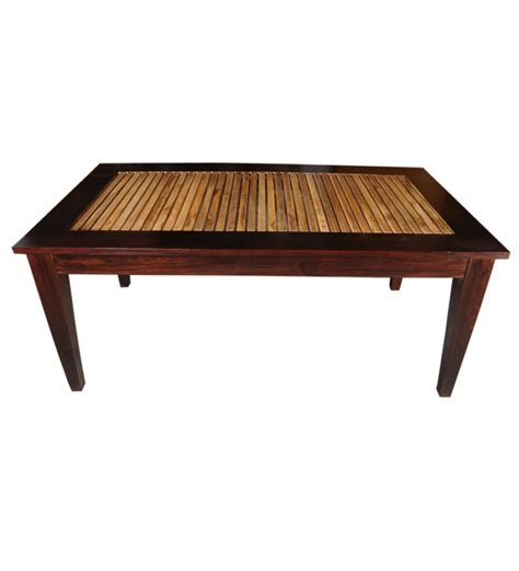 mango wood dining table by mudra dining tables