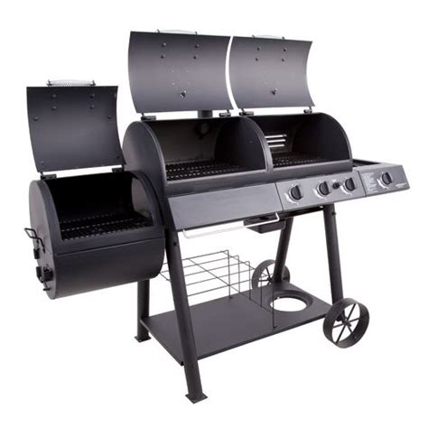 Jual Bbq Grill by Oklahoma Joe S Longhorn Combo Grill And Smoker Academy