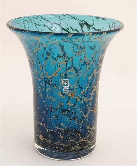 Mdina Glass Vase Mdina Glass Malta A Mdina Studio Art Glass Vase With Flare