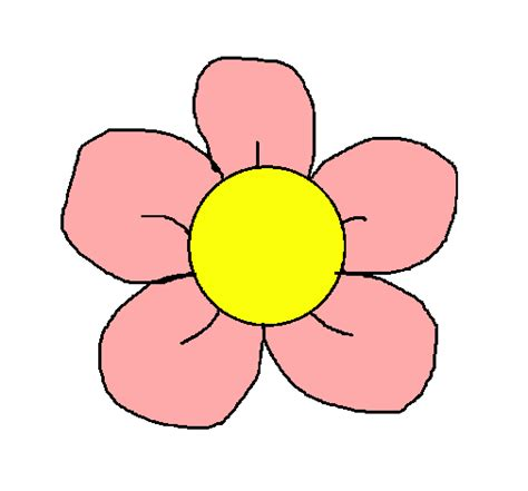 imagenes de flores infantiles a color dibujo de flor 3 pintado por andrea en dibujos net el d 237 a