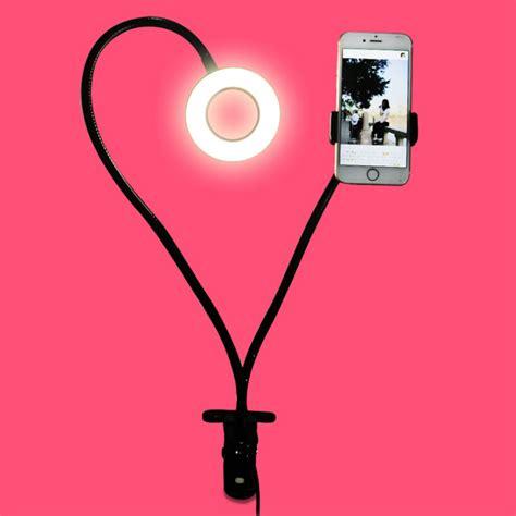 lazypod universal smartphone dengan led l 12w black