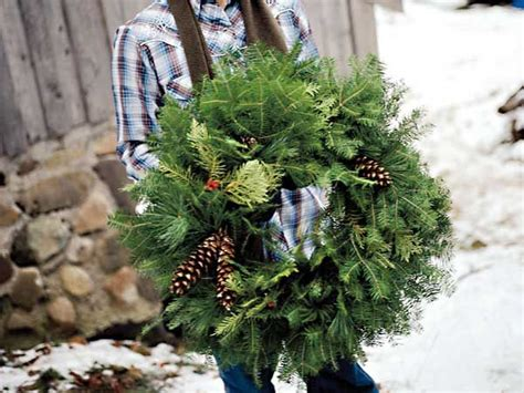 make your own wreath christmas pinterest
