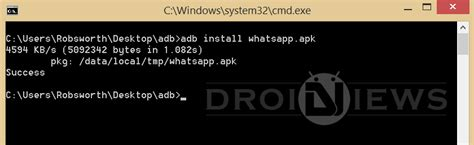 adb uninstall apk how to install apk files using adb commands