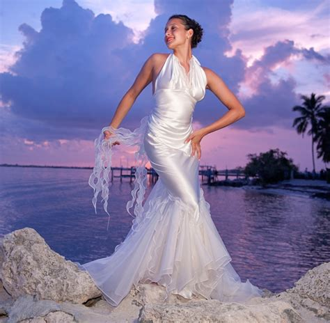 Island Wedding Dresses by Island Archives Custom Silk Wedding Dresses