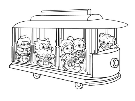 coloring pages daniel tiger daniel tiger coloring pages bestofcoloring