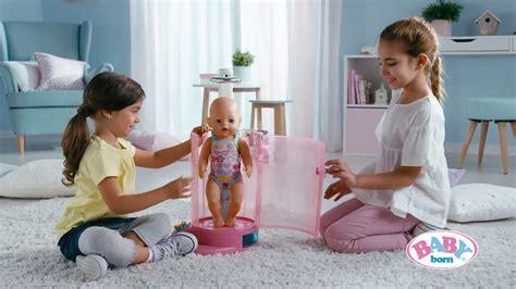 baby born in bathroom zapf creation baby born rain fun shower and bathroom