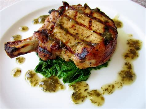 brined pork loin chops with herb pan sauce fillyourbelly
