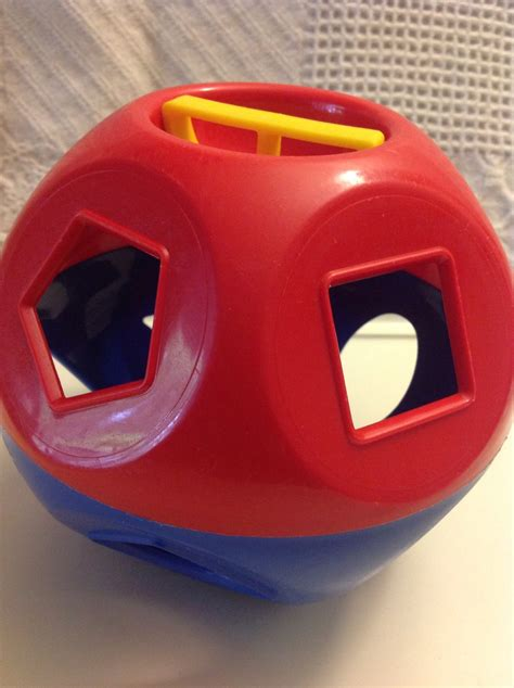 Tupperware Shape O Toys Mainan Anak vintage tupperware toys shape o sorter replacement only other