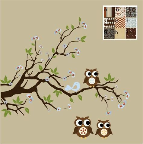 Tree Branch Wall Decal Nursery Pin By Haberman On Baby Trees Birds Owls Pinterest