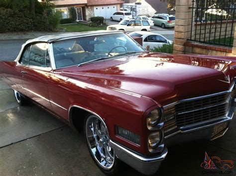 cadillac 1966 for sale 1966 cadillac coupe convertible for sale