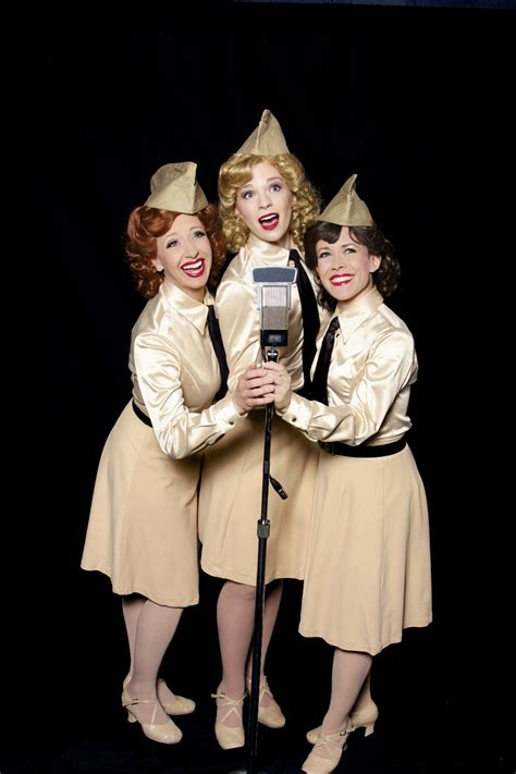 swing it sister an evening with the quot sisters of swing quot